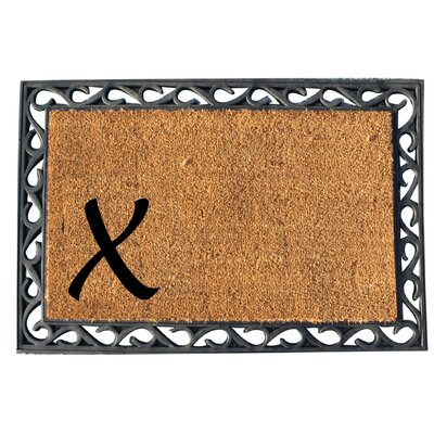 First Impression Doormat Letter: X