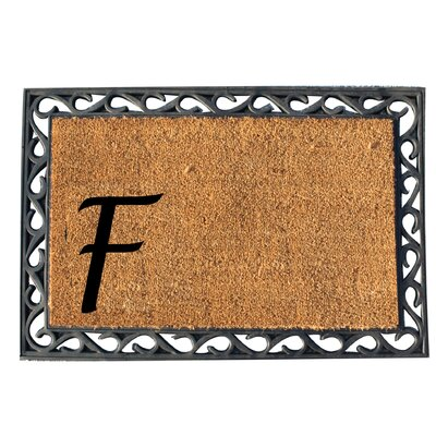 First Impression Doormat Letter: F