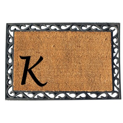 First Impression Doormat Letter: K