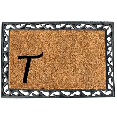 First Impression Doormat Letter: T