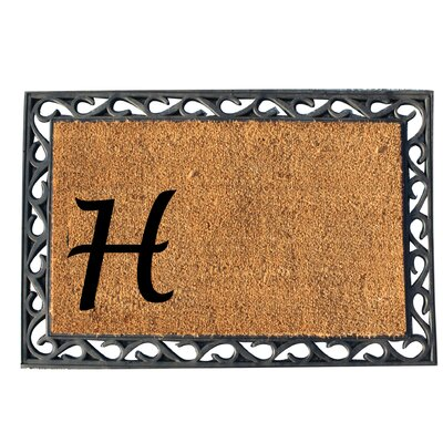 First Impression Doormat Letter: H