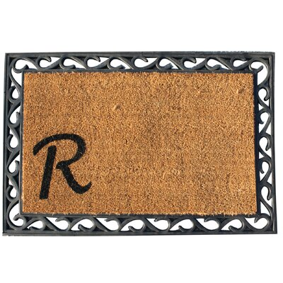 First Impression Doormat Letter: R