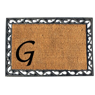 First Impression Doormat Letter: G