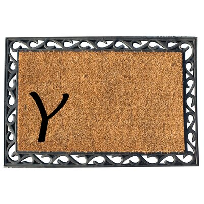 First Impression Doormat Letter: Y