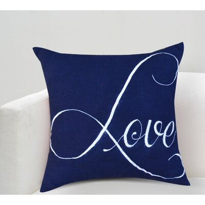 Eria Love Cotton Throw Pillow