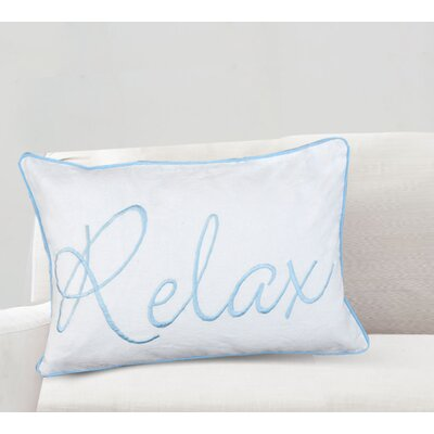 Nell Relax Cotton Lumbar Pillow