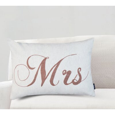Aileen Mrs Cotton Lumbar Pillow