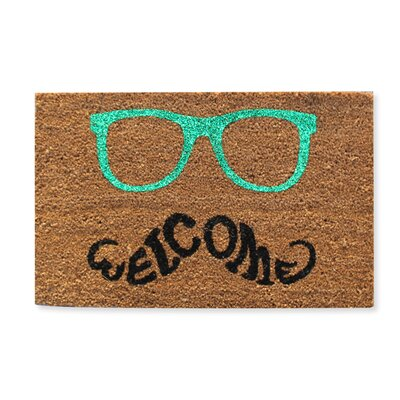 Glasses Welcome Doormat