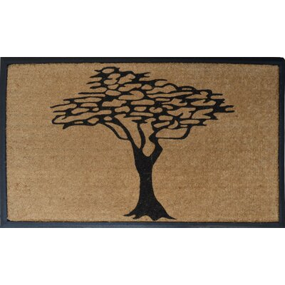 Modern Tree Double Doormat