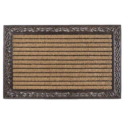 Striped Double Doormat