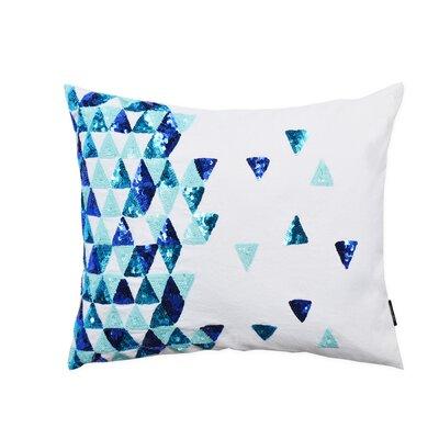 Broken Triangle Cotton Lumbar Pillow