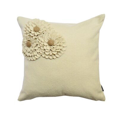 Potpourri Wool Throw Pillow