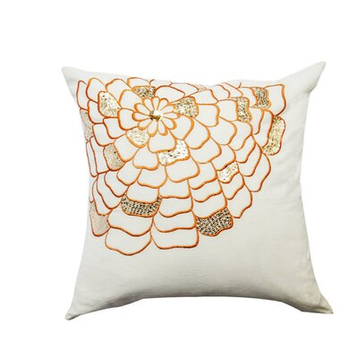 Celebration Floral Cotton Throw Pillow