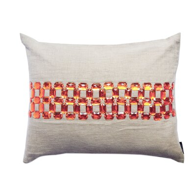 Gem Opulence Cotton Lumbar Pillow