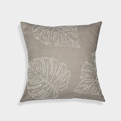 Leaf Mop Cotton Throw Pillow