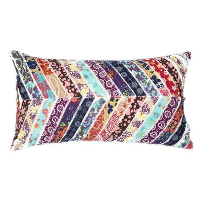 Geometric Cotton Lumbar Pillow
