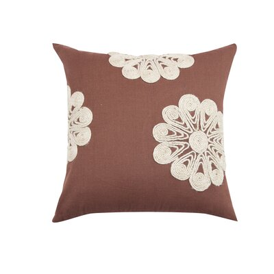 Dori Floral Cotton Throw Pillow