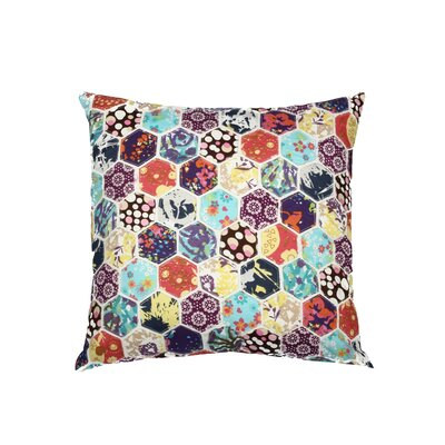 HoneyComb Cotton Throw Pillow