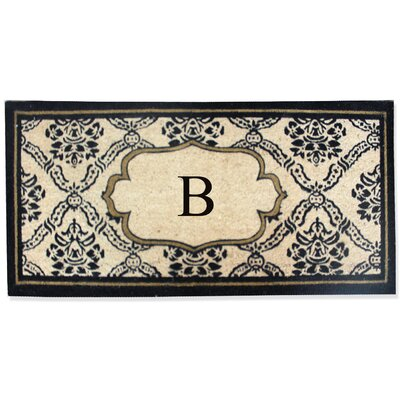 First Impression Engineered Anti Shred Treated Uriel Monogrammed Doormat Letter: B