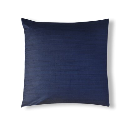 Handcrafted Organza Throw Pillow Color: Blue
