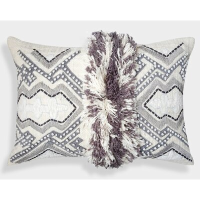 Organza Moroccan Decorative Cotton Lumbar Pillow