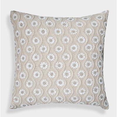 Decorative Organza Handcrafted Linen Throw Pillow