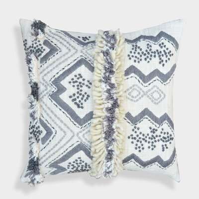 Decorative Organza Handcrafted Morrocan Cotton Throw Pillow