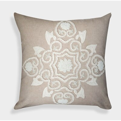 Organza Handcrafted Decorative Linen Throw Pillow