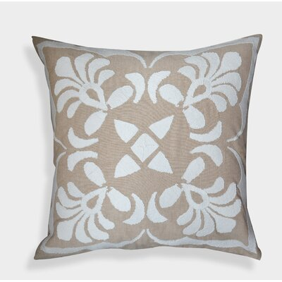 Organza Handembroidered Decorative Throw Pillow