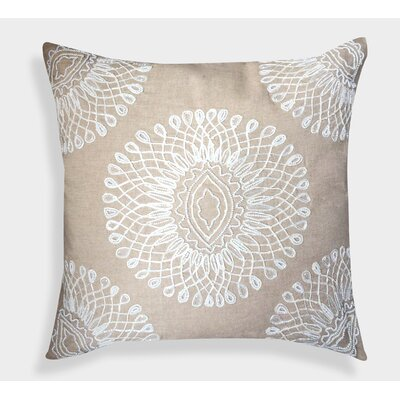 Decorative Organza Handcrafted Linen Throw Pillow