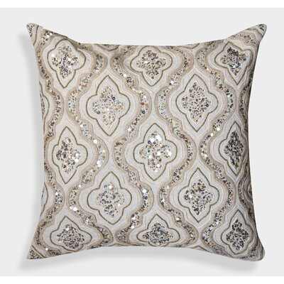 Decorative Organza Handcrafted Cotton Throw Pillow