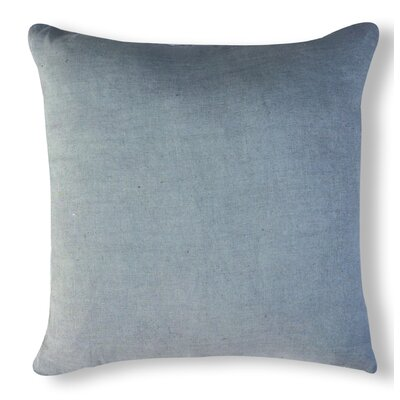 Solid Organzza Linen Throw Pillow Color: Light Gray