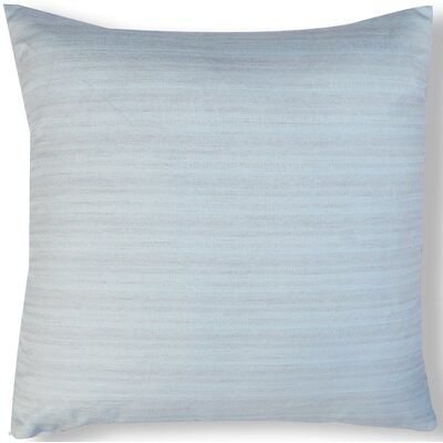 Handcrafted Organza Throw Pillow Color: Moonstone Blue
