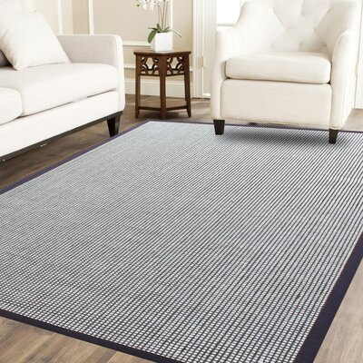 Brown/Cream Area Rug Rug Size: 8 x 10