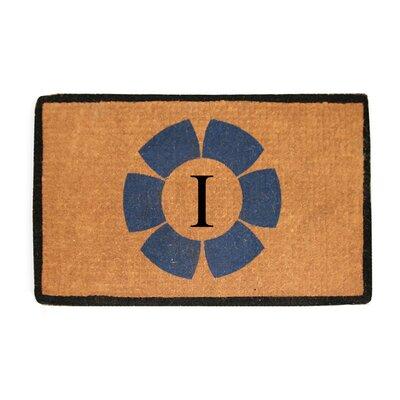 First Impression Floella Monogrammed Doormat Letter: I