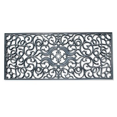 First Impression Brayan Grill Rubber Indoor/Outdoor Doormat