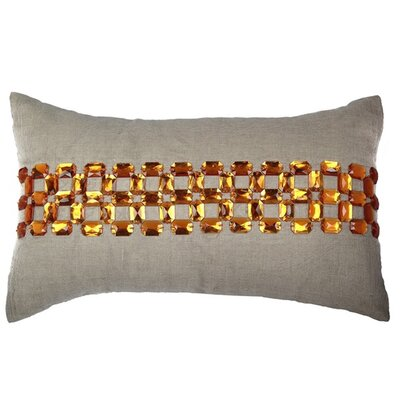 Beaver Cotton Lumbar Pillow
