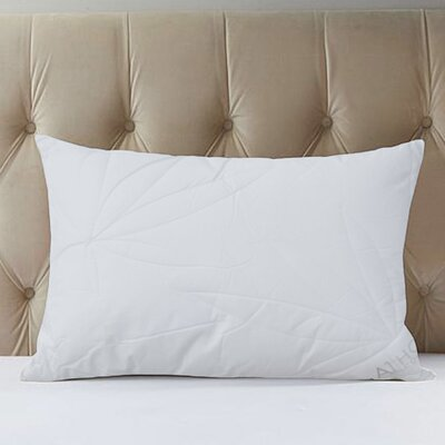 Leaf Microfiber Down Alternative Queen Pillow