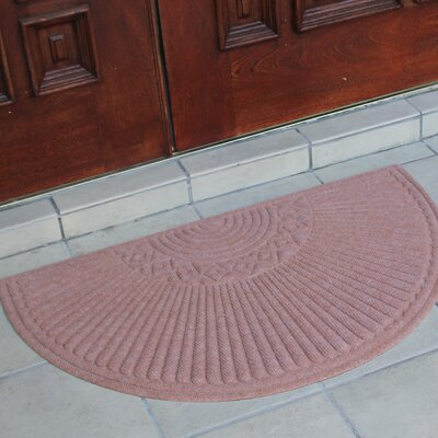 First Impression Nehemian Half-round Doormat