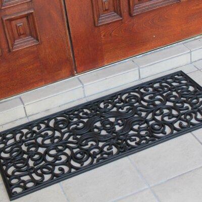 First Impression Brayan Grill Rubber Indoor/Outdoor Doormat