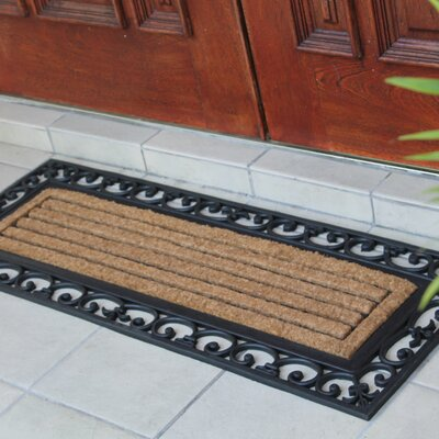 First Impression Clarence Doormat