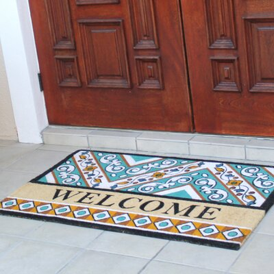 First Impression Engineered Anti Shred Treated Waydon Welcome Doormat
