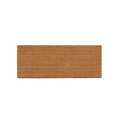 First Impression Plain Coir Doormat