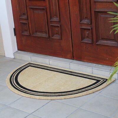 Finlay Half Round Coir Doormat