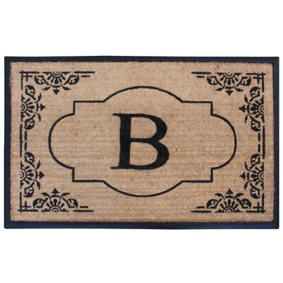 Albertina Doormat Letter: B