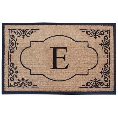 Albertina Doormat Letter: E