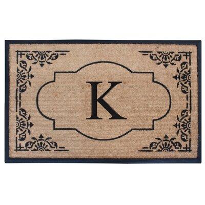 Albertina Doormat Letter: K