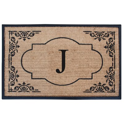 Albertina Doormat Letter: J
