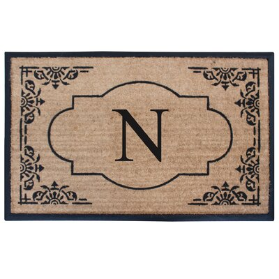 Albertina Doormat Letter: N