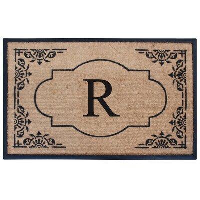 Albertina Doormat Letter: R